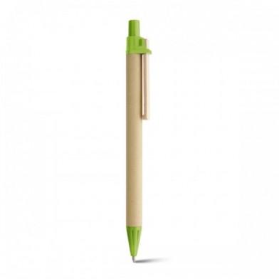 Еко химикалка с дървена клипса