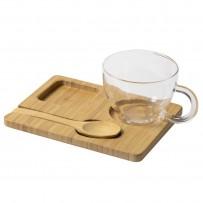 Комплект чаша с лъжичка